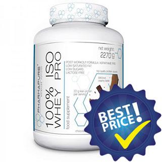 100% Iso Whey Pro 2,27Kg PharmaPure