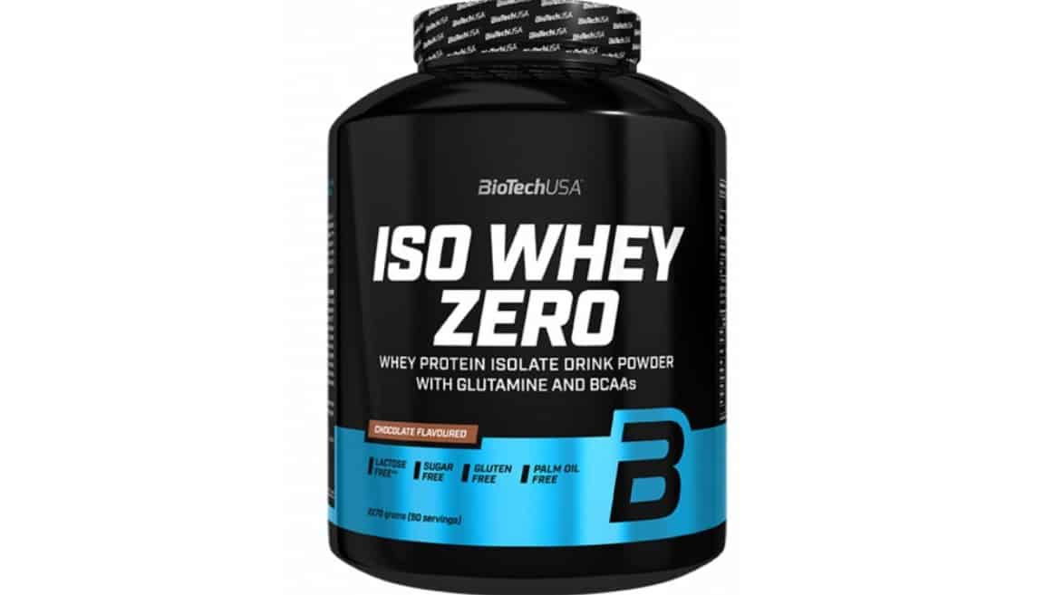Iso Whey Zero 2,27kg Bio Tech USA