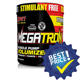 Megatron Muscle Pump Volumizer 462g San Nutrition