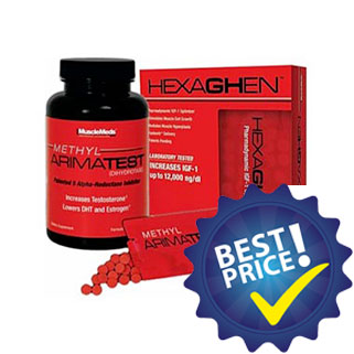 Methyl Arimatest testo booster della musclemeds
