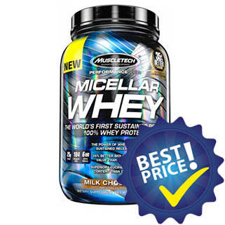Micellar Whey Performance Series 907g Muscletech