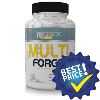 Multi Force 120 cps Nutrition Labs