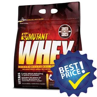 Mutant Whey 4,54kg Mutant