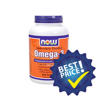 omega 3 200cps da 1000mg now foods