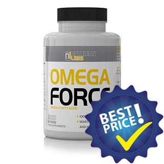 Omega Force 200cps Nutrition Labs