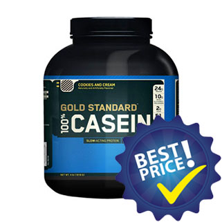 gold standard casein 100 1,8kg optimum nutrition