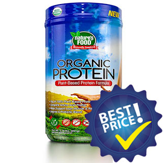 Organic Protein 990g Natures Food