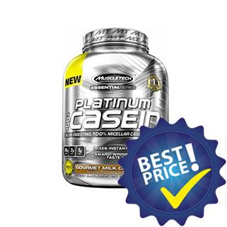 platinum casein 100% 1,63kg muscletech