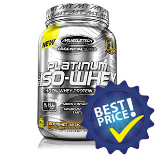 Platinum 100% Iso-Whey 792g Muscletech