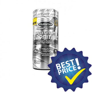 platinum carnitine essential series 180cps muscletech