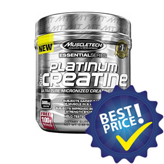 platinum creatine 400g muscletech