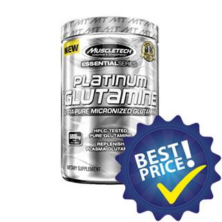 platinum glutamine essential series 300g muscltech