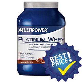 Platinum Whey 750g Multipower