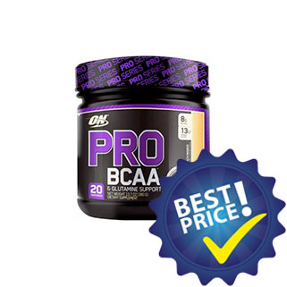 pro bcaa 390g optimum nutrition