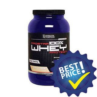 Prostar 100% Whey Protein 908gr Ultimate Nutrition