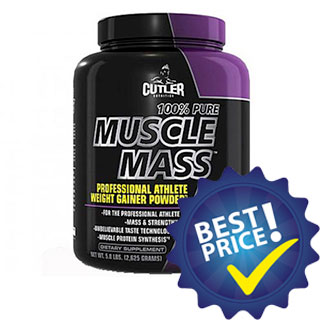 100% Pure Muscle Mass 2,6 kg Cutler Nutrition