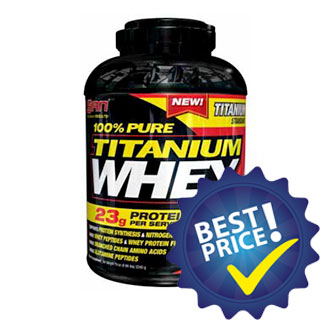 titanium whey pure 2,27kg san nutrition
