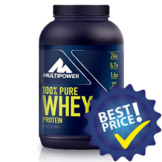 100% Pure Whey Protein 900g Multipower