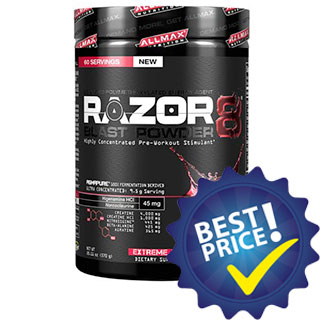 Razor8 Blast Powder 285g AllMax Nutrition