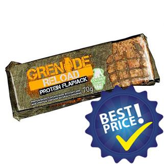 Reload Protein Flapjacks Bar 70 gr Grenade