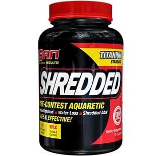 shredded 70 capsule san nutrition diuretico e drenante naturale