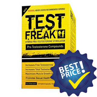Test Freak 120cps Pharma Freak