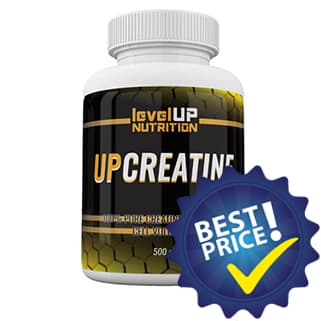 up-creatine integratore di creatina monidrato in polvere, ottima come energetico volumizzante