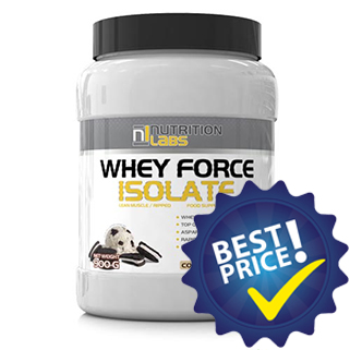 whey force isolate proteina dal siero di latte ultrafiltrato