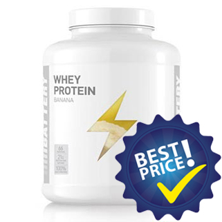 Battery Whey Protein 2kg Battery Nutrition