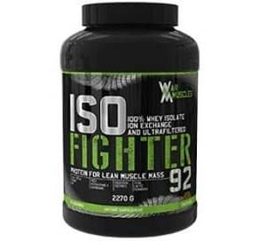 iso fighter whey protein 2,27kg war muscles