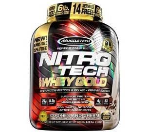 nitro tech whey gold 100 2,72kg muscletech