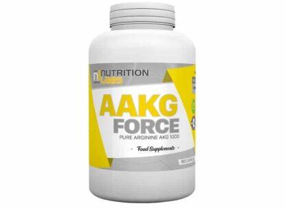 aakg force 180 integratore vegan e gmp a base di arginina akg indicato per stimolare l'ossido nitrico e il gh