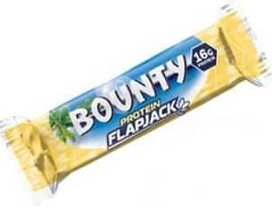 bounty protein flapjack 60g mars nutrition