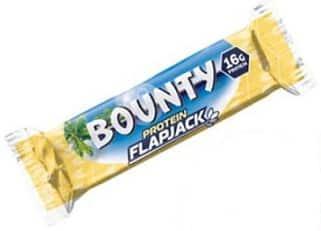bounty protein flapjack 60g mars nutrition