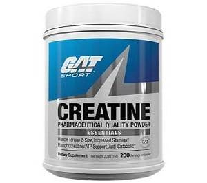 gat creatine pharmaceutical grade 300g creatina monoidrato pura