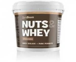 nuts e whey 1kg gym beam burro di arachidi proteico