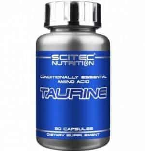 taurine 90cps scitec nutrition integratore di taurina