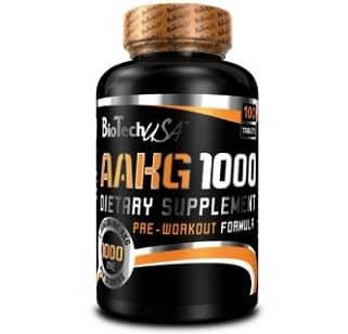 aakg 1000 90cps biotech usa arginina alfa cheto glutarato
