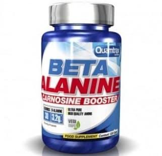 beta alanine carnosine booster 800 milligrammi 120capsule quamtrax nutrition integratore per la resistenza fisica