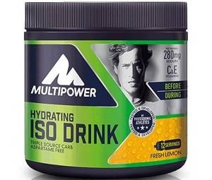 hydrating iso drink 420g multipower bevanda isotonica energetica