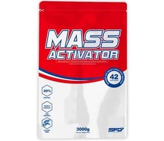 mass activator integratore per aumentare la massa muscolare, utilizzalo dopo l'allenamento con i pesi, contiene proteine e carboidrati nobili