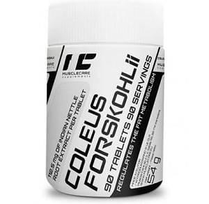 muscle coleus forskohlii integratore di forskolina titolato al 10%, ideale come dimagrante, agisce sui livelli di ormoni tiroidei ottimizzandoli