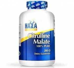 citrullina malato 200 grammi haya labs integratore per stimolare ossido nitrico e gh