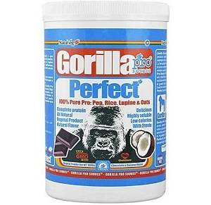 gorilla perfect proteina vegana senza edulcoranti ne dolcificanti