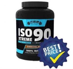 Xtreme ISO 90 proteina in polvere realizzata dal siero di latte sioalto, ottima per colazione e post allenamento