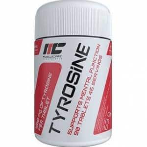 tyrosine muscle care integratore di tirosina per dimagrire