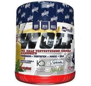wolf testosterone formula integratore di acido d-aspartico, estratti vegetali e vitamine, ideale come sostegno al vigore sessuale