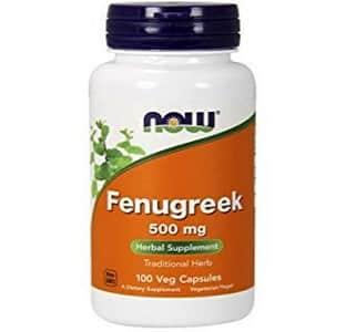 fieno greco estratto della now foods, ottimo stimolatore del testosterone ma anche per lenire i dolori mestruali e la caduta di capelli