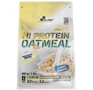 fiocchi di avena proteici con whey concentrate 47 per cento, ottimi per porridge deliziosi e nutrienti