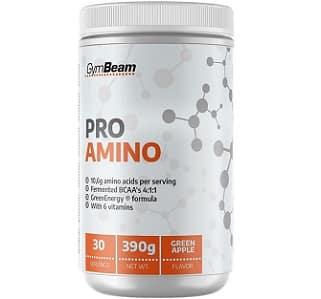 pro amino un pre allenamento a base di aminoacidi arricchito di vitamine e caffeina pura da tre fonti